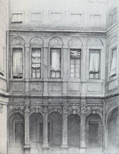 Fenster bleistiftzeichnung  Zum Werk von Rolf Escher | Dirk Schwarze: … documenta … Künstler ...