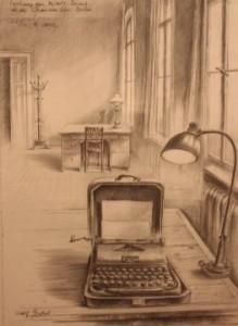Brechts Arbeitszimmer - a