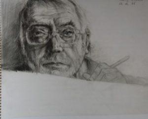 8 Selbstporträt 2008 2